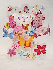 santoro graphics swing cards butterflies in flight greeting card 3 d interactive swing