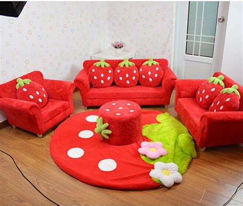 best couch for kids coral velvet children sofa chairs cushion furniture set