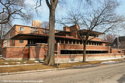 Prairie Style Homes by Frank Lloyd Wright Prairie Architecture Robie