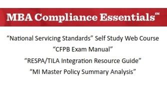 Mba Compliance by Compliance Essentials Ohio Mortgage Bankers Association