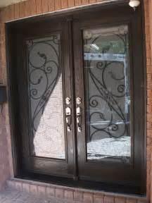 Front Doors With Wrought Iron Wrought Iron Exterior Doors Front Entry Doors