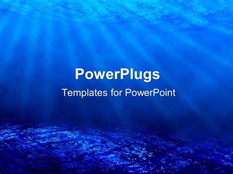 powerpoint templates free download ocean powerpoint template deep sea diving with blue coral ocean