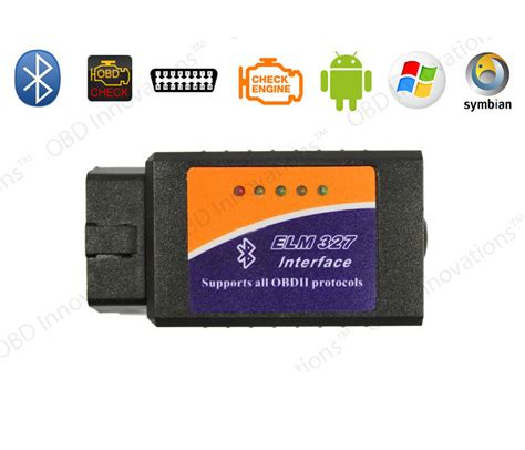 Car Diagnostic Elm327 Bluetooth Obd2 V16 Automotive Test Tool Black car diagnostic elm327 bluetooth obd2 v1 6 automotive test tool black jakartanotebook