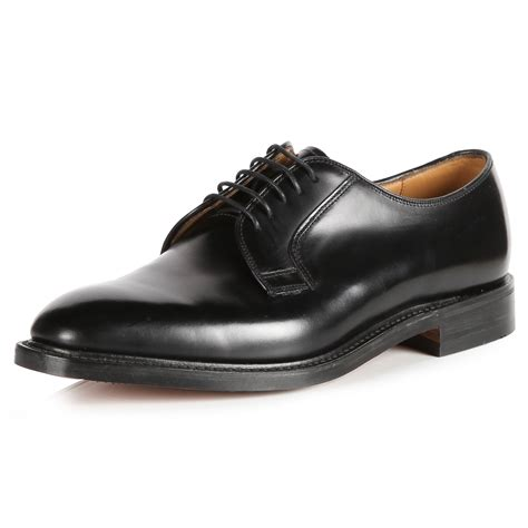 black shoes 771 loake derby black shoes mod shoes