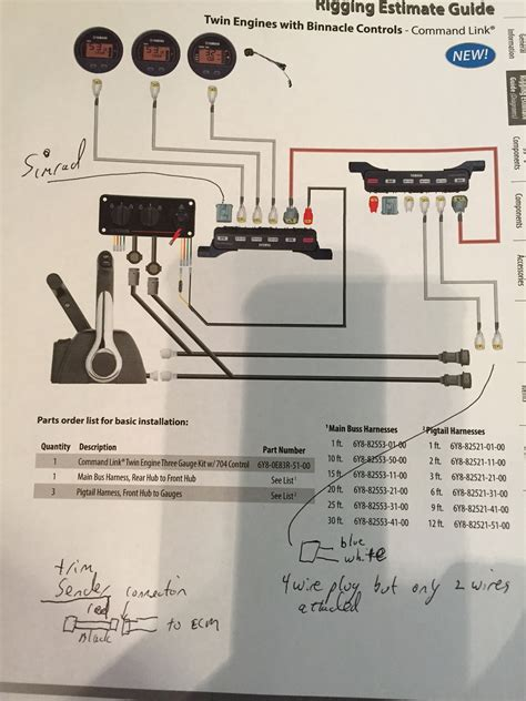 yamaha square gauges wiring diagram wiring diagram
