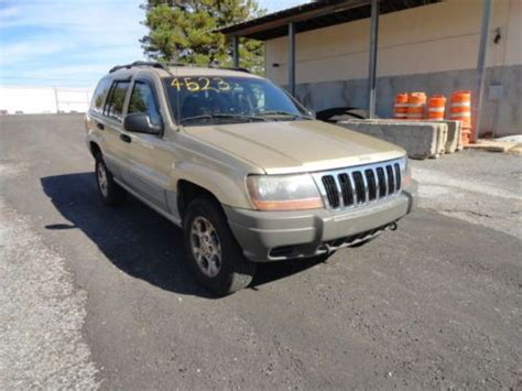 2000 gold jeep grand sell used 2000 gold jeep grand 4wd one owner in