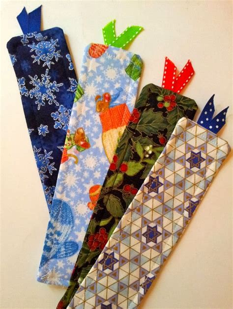 Handmade Fabric Bookmarks - mirage bookmark handmade fabric bookmarks