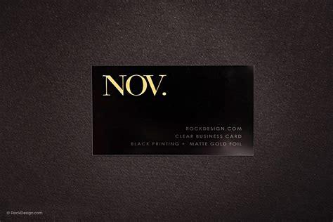 plastic business card template minimalist plastic business card template with foil
