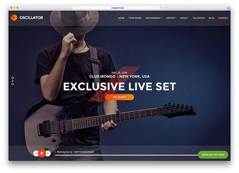 30 awesome responsive wordpress music themes 2018