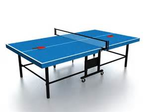 Folding Ping Pong Table Folding Ping Pong Table 3d Model 3ds Max Files Free Modeling 26768 On Cadnav