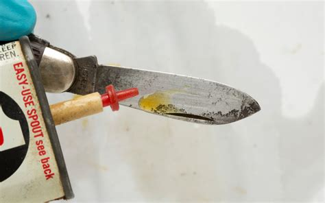 cleaning a pocket knife how to clean a pocketknife boys magazine
