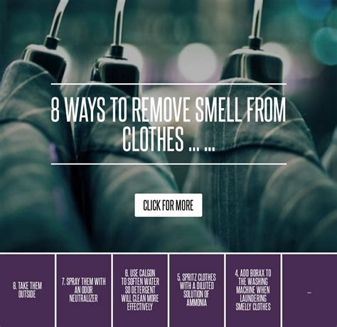 8 Ways To Remove Smell From Clothes by 8 Ways To Remove Smell From Clothes Fashion