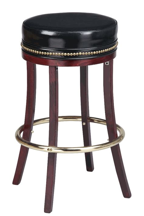 Small Bar Stools by Regal Seating Model 1108hh Commercial Wooden Backless Bar