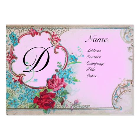 floral design business from home create your own floral designer business cards page4