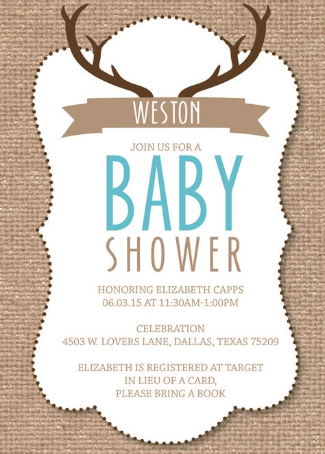 Deer Themed Baby Shower by 1000 Ideas About Baby Showers On Gift