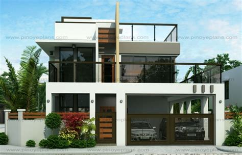 miami home design mhd ester four bedroom two story modern house design pinoy
