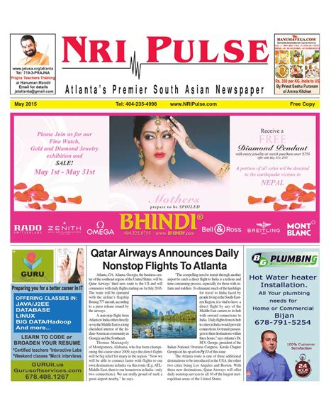 Publication Nri | nri pulse may 2015 issue by nri pulse issuu