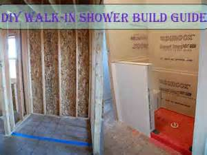 building a walk in shower pictures to pin on