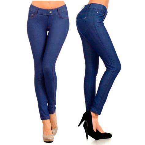 Legging Soft womens jeggings look stretch soft