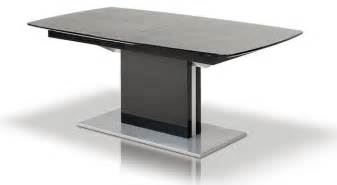 Black Contemporary Dining Table 15 Pictures Modern Glossy Black Dining Table Dining Decorate