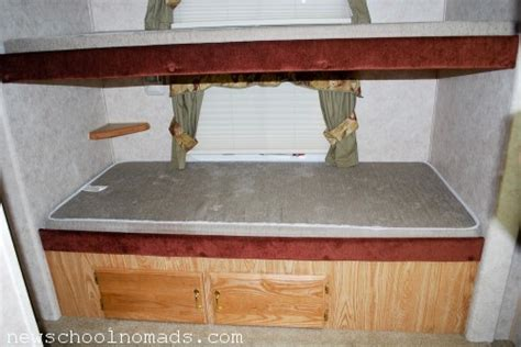 sold  rv  rv makeover pictures  late   newschool nomads