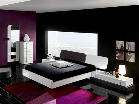 black white purple bedroom black and white and purple bedrooms decor and design theme ideas