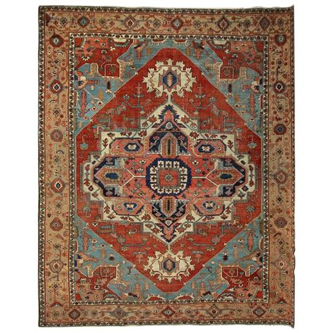 heriz serapi rugs for sale antique carpets rug heriz serapi carpet for sale at 1stdibs