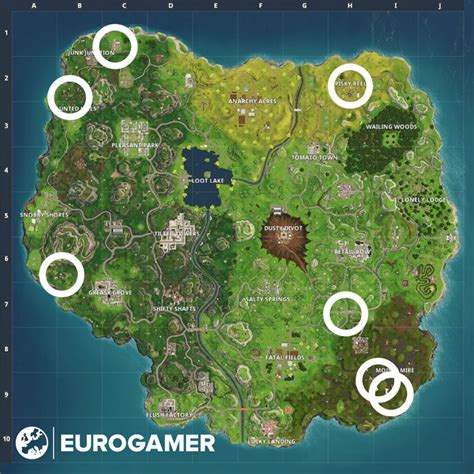 where fortnite cameras fortnite different locations explained