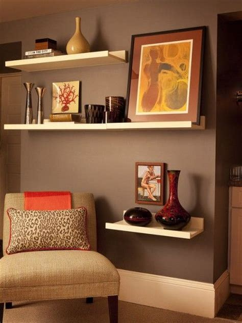 Living Room Wall Shelves Designs Sitting Rooms Small Room Decorating Ideas