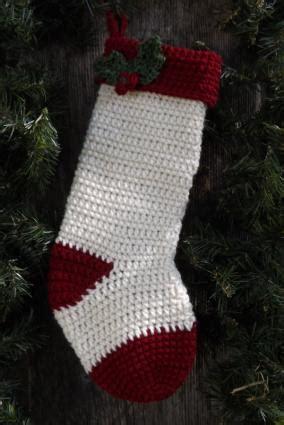 beginner crochet pattern for christmas stocking christmas stocking crochet pattern lovetoknow