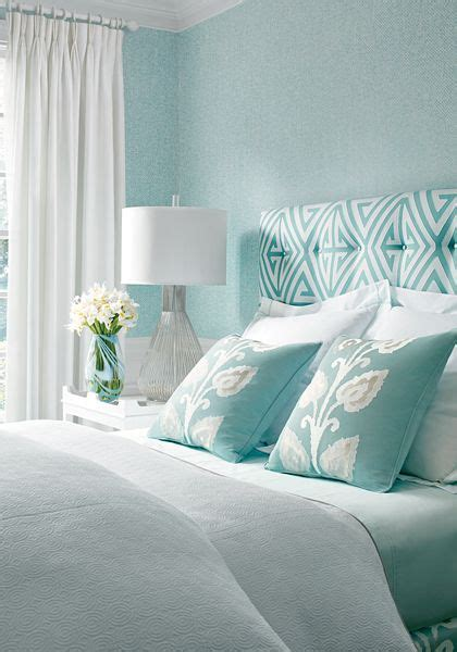 How To Decorate A Blue And White Bedroom by Best 25 Aqua Blue Bedrooms Ideas On Blue