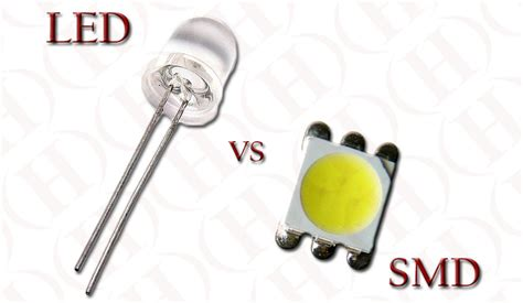 Led Smd led vs smd heraco lights