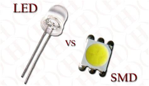 diode vs led led vs smd heraco lights