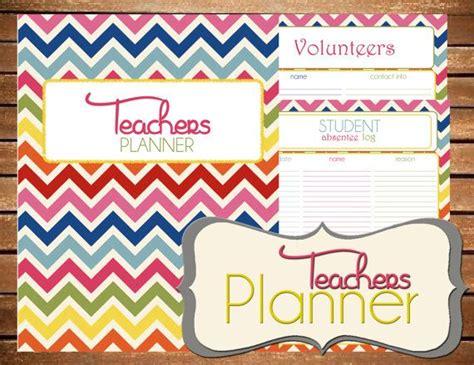 printable teacher planner etsy 33 best images about family binder on pinterest binder