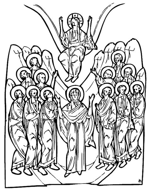 nativity icon coloring page search results for nativity black and white coloring page