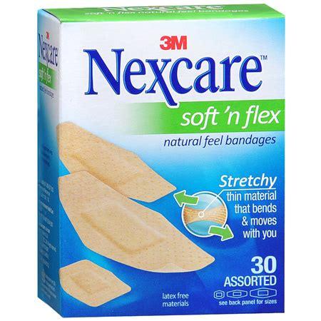 nexcare comfort fabric bandages 3m nexcare comfort fabric bandages assorted 30 ea