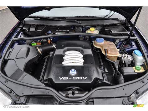 volkswagen passat engine 2001 volkswagen passat glx sedan 2 8 liter dohc 30 valve