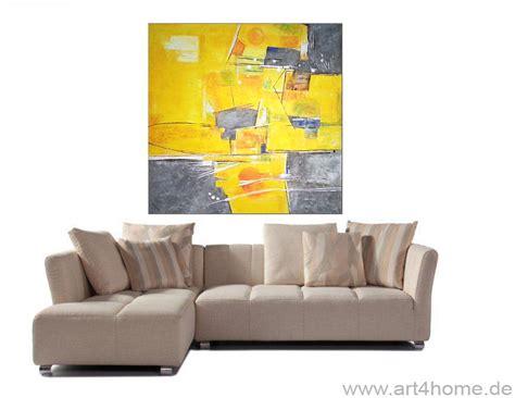 grosse bilder fürs wohnzimmer dekor wohnzimmer gelb