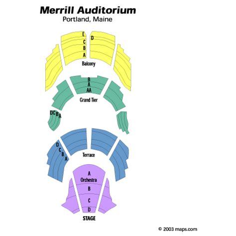 merrill auditorium seating map govt mule may 30 tickets portland merrill auditorium