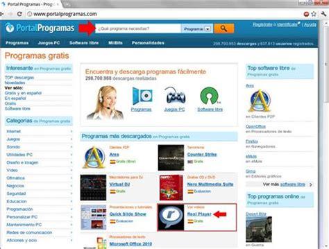 descargar software gratuito sites descarga de software como bajar programas e instalarlos en nuestra pc