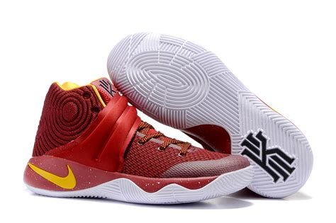 kyrie basketball shoes s nike kyrie 2 basketball shoes burgundy gold 819583