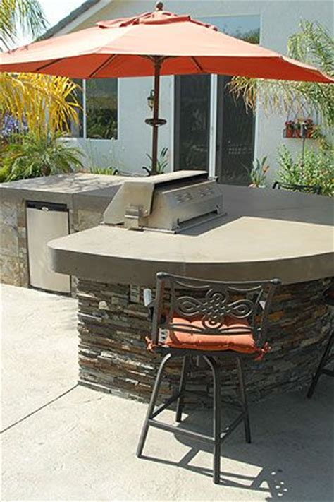 Backyard Grill And Bar Nutrition Simple And Outdoor Bbq Island California Concrete