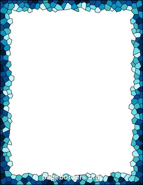 mosaic border clip art page border vector graphics