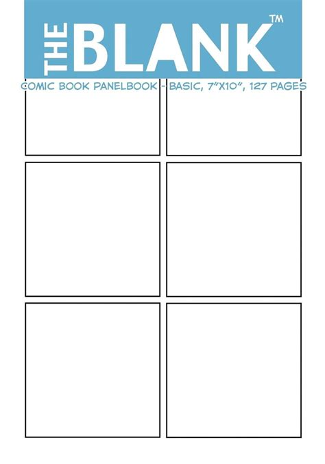 blank comic book 7 5 x 9 25 130 pages comic panel for drawing your own comics idea and design sketchbook for artists of all levels the blank comic book panelbook basic 7 quot x10 quot 127 pages