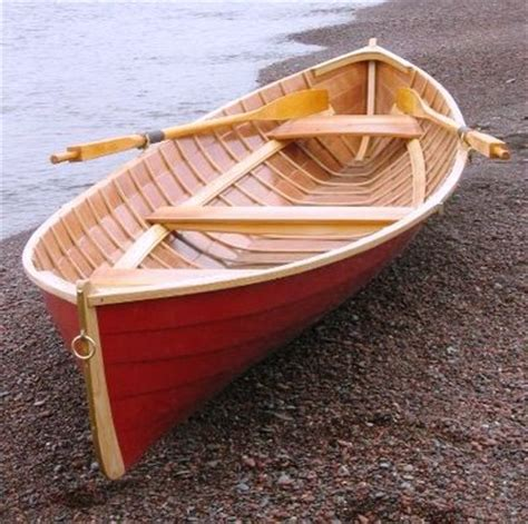 row boat with motor wooden row boat with motor