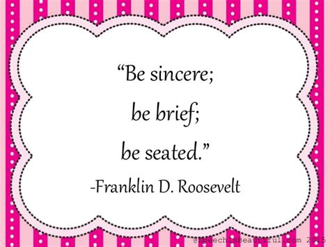 be sincere be brief be seated meaning quotes about communication inspiration for those who lead