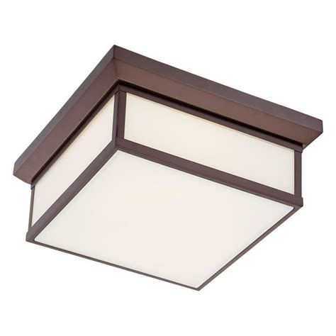 Square Flush Mount Ceiling Light Metropolitan Square Flush Mount Ceiling Light Available In 2 Colors