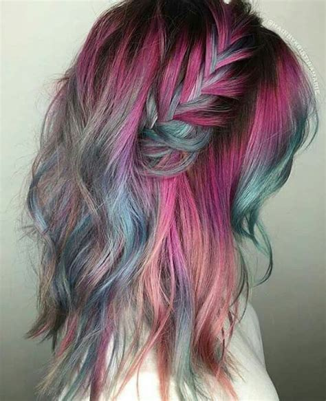 faded colour hairstyles 1084 best rainbow of hair images on pinterest