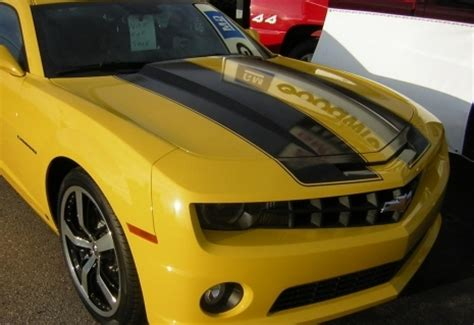 Sweepstakes Bee - 1 of 3 bumblebee camaro sweepstakes cars produced and delivered camaro zl1 z28 ss lt