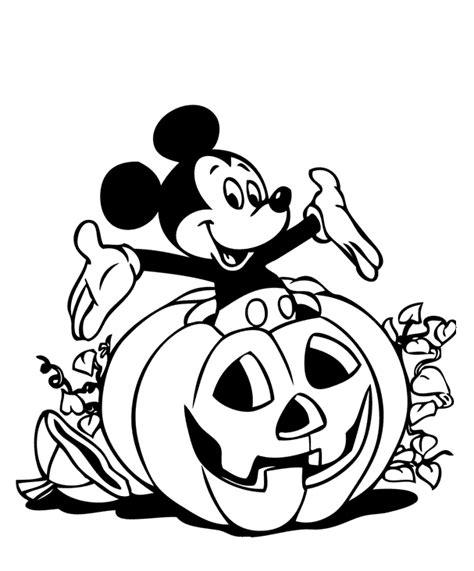 imagenes en negro de halloween dibujos para colorear dibujo para pintar de mickey mousse